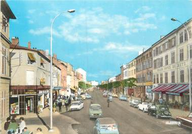 """CPSM FRANCE 55 """"Bar Le Duc, boulevard de la Rochelle"""""""