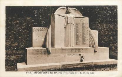 """CPA FRANCE 52 """"Bourbonne Les Bains, le monument"""""""