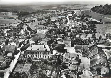 """CPSM FRANCE 52 """"Colombey les Deux Eglises, hôtel de ville et les deux églises"""""""