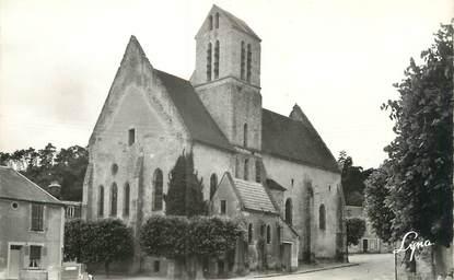 """CPSM FRANCE 91 """"Boigneville, l'église et la place"""""""