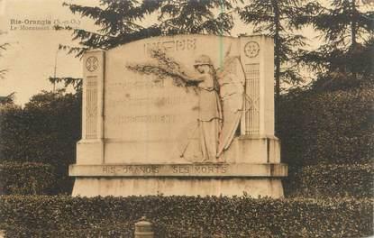 """CPA FRANCE 91 """"Ris Orangis, le monument aux morts"""""""