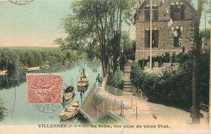 "CPA FRANCE 78 ""Villennes"""