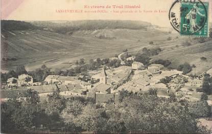 """CPA FRANCE 54 """"Lanneuville, vue générale et la route de Lucey"""""""