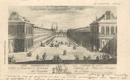 """CPA FRANCE 54 """"Le Vieux Nancy, la place Carrière"""""""