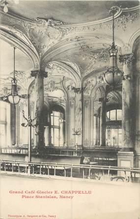 """CPA FRANCE 54 """"Nancy, Grand Café E. Chappellu"""""""