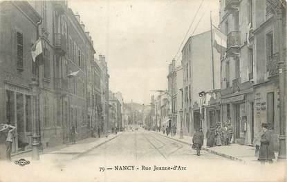 "CPA FRANCE 54 ""Nancy, rue Jeanne d'Arc"""