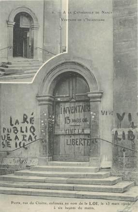 "CPA FRANCE 54 ""Nancy, porte, rue du Cloitre"""