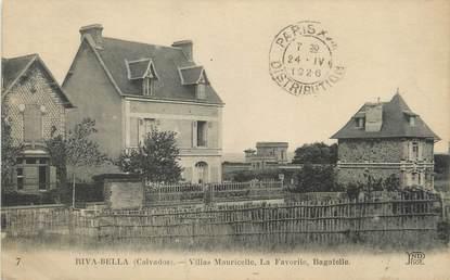 "CPA FRANCE 14 ""Riva Bella, villas Mauricette"""
