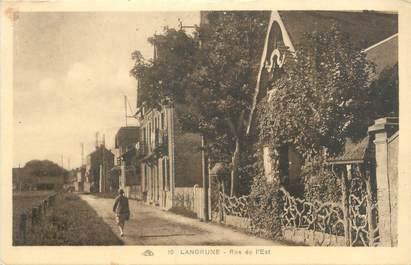 """CPA FRANCE 14 """"Langrune, rue de l'est"""""""