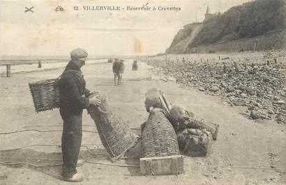"""CPA FRANCE 14 """"Villerville, réservoir à Crevettes"""""""