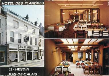 """CPSM FRANCE 62 """"Hesdin, l'hôtel des Flandres"""""""