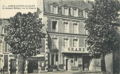 """CPA FRANCE 14 """"Arromanches Les Bains, le grand hôtel"""""""
