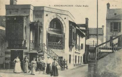 "CPA FRANCE 14 ""Arromanches, chalet Arabe"""