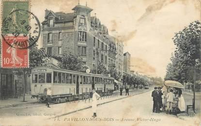 """CPA FRANCE 93 """"Pavillon sous Bois, avenue Victor Hugo"""""""