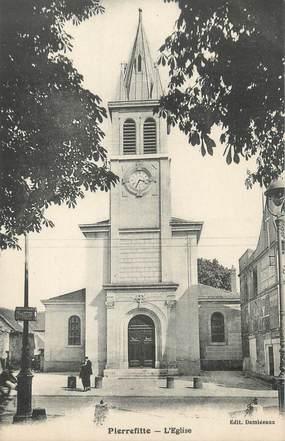 """CPA FRANCE 93 """"Pierrefitte, l'église"""""""