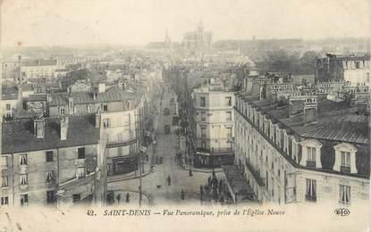 """CPA FRANCE 93 """"Saint Denis, vue panoramique"""""""