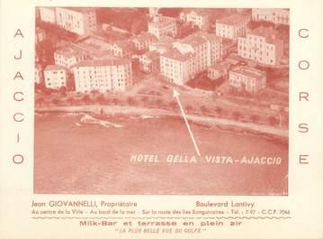 """CPSM FRANCE 20 """"Corse, Ajaccio, hôtel Bella Vista"""""""