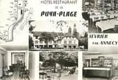 """74 Haute Savoie CPSM FRANCE 74 """"Sevrier, hôtel restaurant de la Puya Plage"""""""