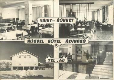 """CPSM FRANCE 05 """"Saint Bonnet, nouvel Hôtel Reynaud"""""""