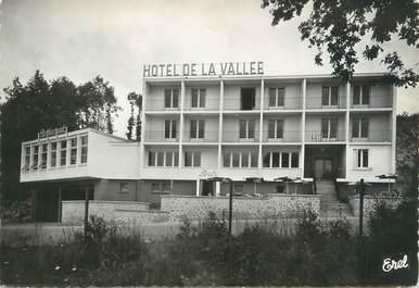 """CPSM FRANCE 87 """"Bessines sur Gartempe, hôtel de la vallée"""""""