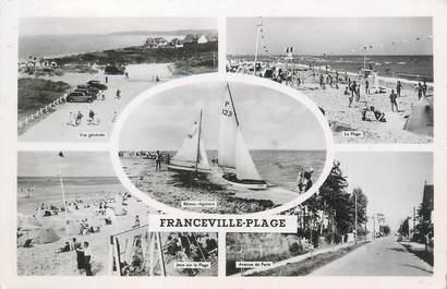 """CPSM FRANCE 14 """"Franceville plage"""""""