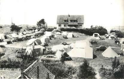 """CPSM FRANCE 14 """"Franceville, l'hostellerie et son camping"""""""