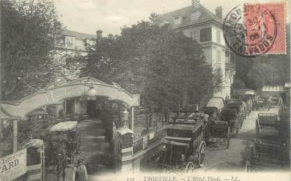 "CPA FRANCE 14 ""Trouville, l'hôtel Tivoli"""