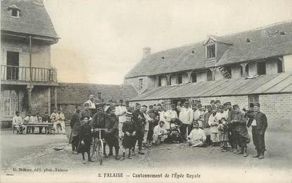 """CPA FRANCE 14 """"Falaise, cantonnement de l'Epée Royale"""""""