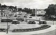"""53 Mayenne CPSM FRANCE 53 """"Laval, gare des T.U.I et promenade de Changé"""" / AUTOMOBILE"""