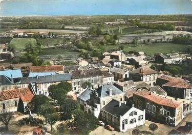 """CPSM FRANCE 16 """"Paizay Naudouin, place, mairie, poste"""""""