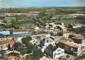 """16 Charente CPSM FRANCE 16 """"Paizay Naudouin, place, mairie, poste"""""""