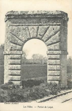 """CPA FRANCE 13 """"Les Milles, portail de Loqui"""""""