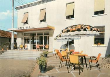 """CPSM FRANCE 17 """"Lorignac, le café Bar"""""""