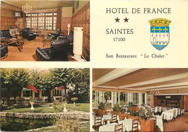 """CPSM FRANCE 17 """"Saintes, hôtel de France"""""""