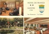 """17 Charente Maritime CPSM FRANCE 17 """"Saintes, hôtel de France"""""""
