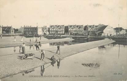 """CPA FRANCE 14 """"Courseulles sur Mer, le parc aux huitres"""""""