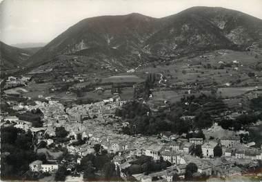 """/ CPSM FRANCE 26 """"Dieulefit, vue générale aérienne, la montagne de Vente"""""""