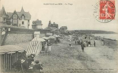 """CPA FRANCE 14 """"Blonville sur Mer, la plage """""""