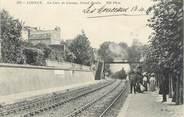 """14 Calvado CPA FRANCE 14 """"Lisieux, la gare de Lisieux"""""""