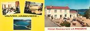 """23 Creuse CPSM LIVRET FRANCE 23 """"Bourganeuf, hôtel restaurant La Frégate"""""""