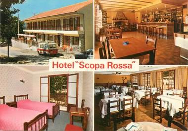 "CPSM FRANCE 20 ""Corse, Evisa, hôtel Scoppa Rossa"""