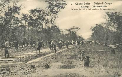 """CPA CONGO BELGE """"Katanga Elisabethville"""""""