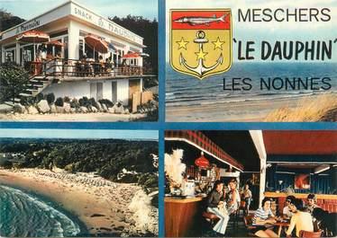 """CPSM FRANCE 17 """"Meschers, le Dauphin, Les Nonnes"""""""