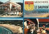 """17 Charente Maritime CPSM FRANCE 17 """"Meschers, le Dauphin, Les Nonnes"""""""