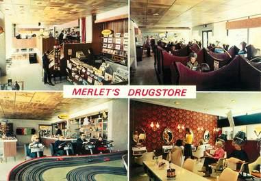 "CPSM FRANCE 12 ""Orcières, Merlet's Drugstore"""