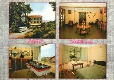 "CPSM FRANCE 20 ""Corse, Campile, hôtel Bellevue"" / BABYFOOT"