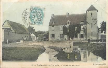 "CPA FRANCE 14 ""Ouistreham Riva Bella, ferme du pavillon"""