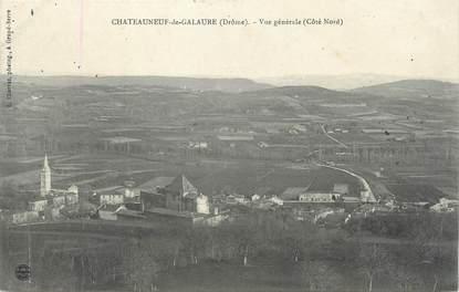 """CPA FRANCE 26 """"Châteauneuf de Galaure, vue générale"""""""