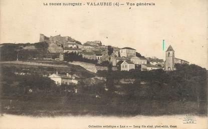 """CPA FRANCE 26 """"Valaurie, vue générale"""""""