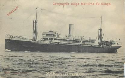 CPA CONGO BELGE / BATEAU